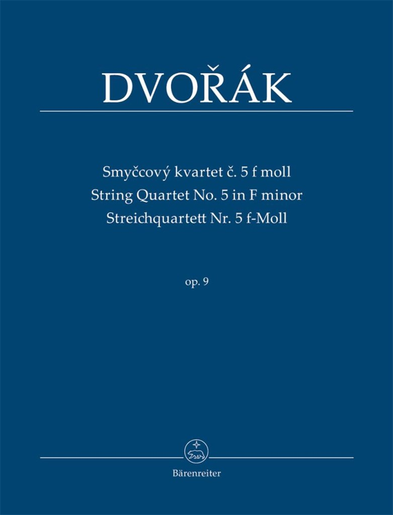 String Quartet Nr. 5 F minor Op.9. Dvorak