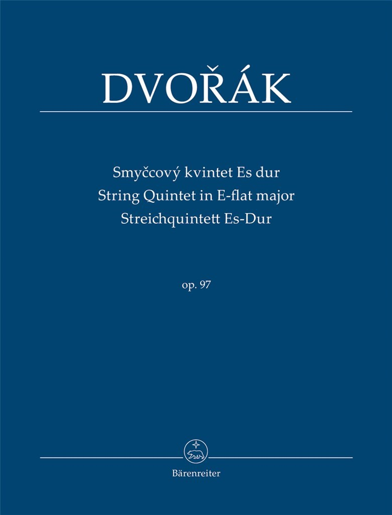 String Quintet E-flat major Op.97. Dvorak