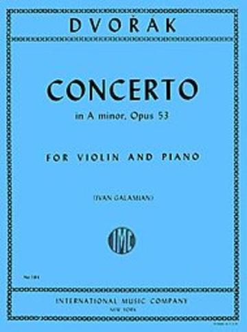 Concerto A minor op.53. Dvorak