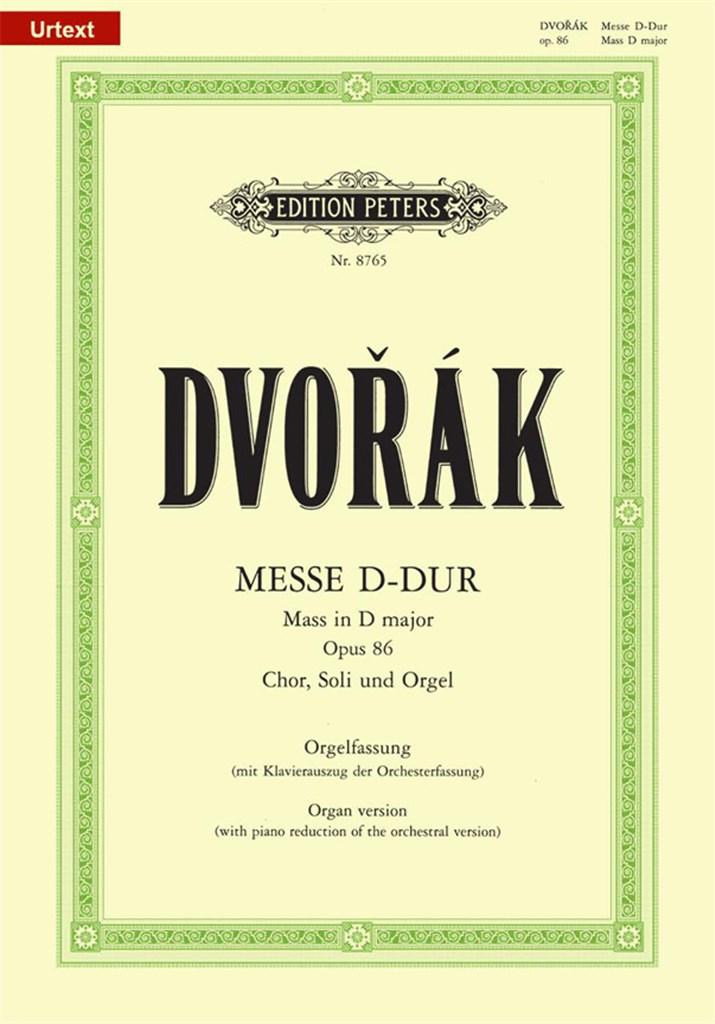 Mass in D Op.86. Dvorak