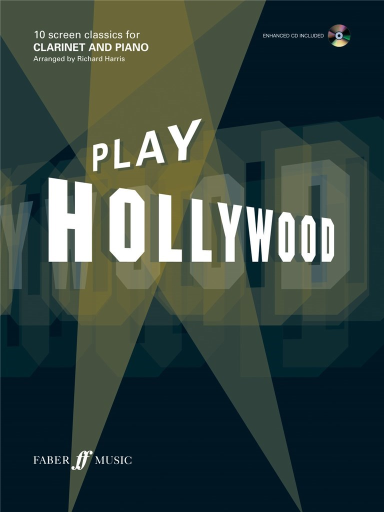 Play Hollywood For Clarinet +CD