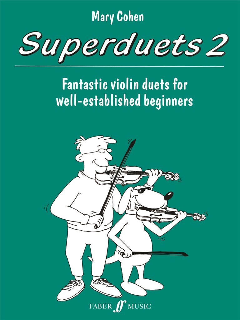 Mary Cohen: Superduets Book 2. 2 Violines