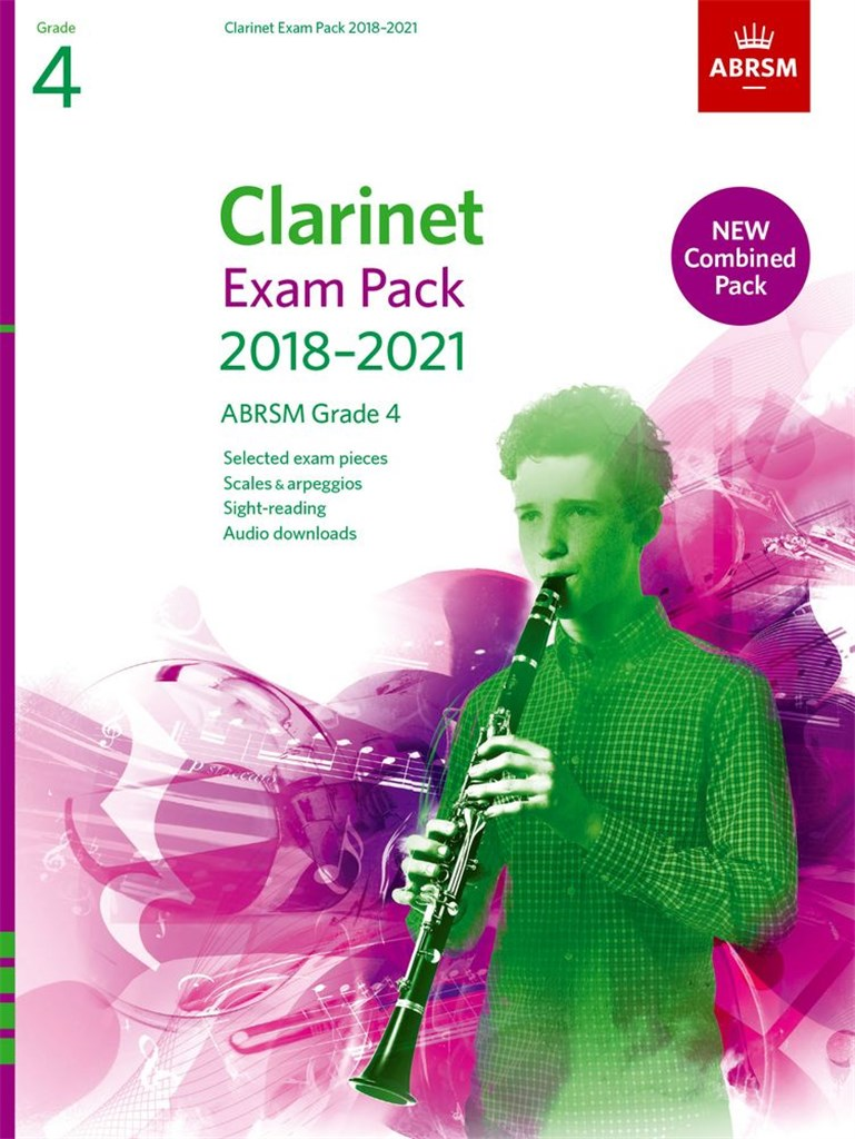 Clarinet Exam Pack Grade 4 2018-2021