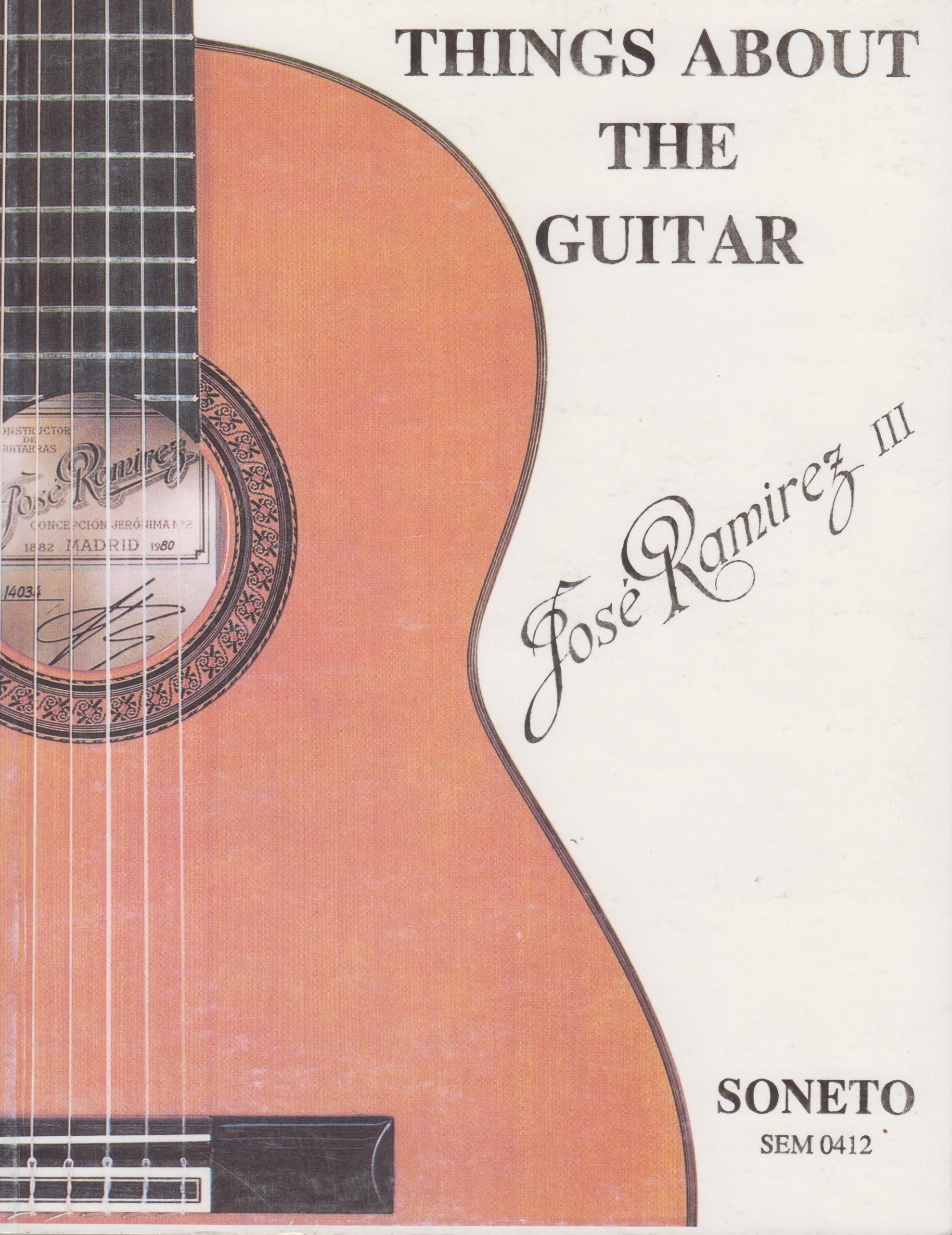Entorno A la Guitarra. José Ramirez (Inglés)