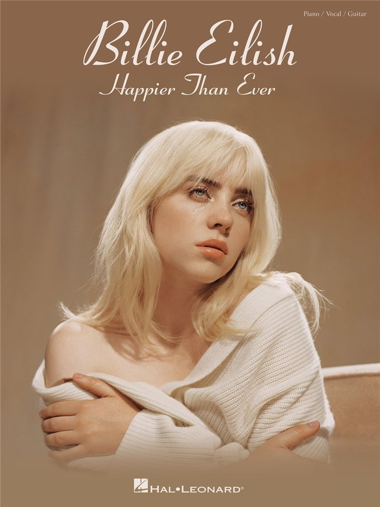 Billie Eilish - Happier Than Ever Piano, Vocal and Guitar