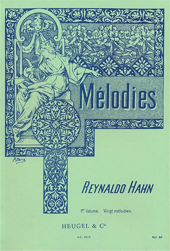 20 Melodies - Voix Moyenne et Piano Vol.1