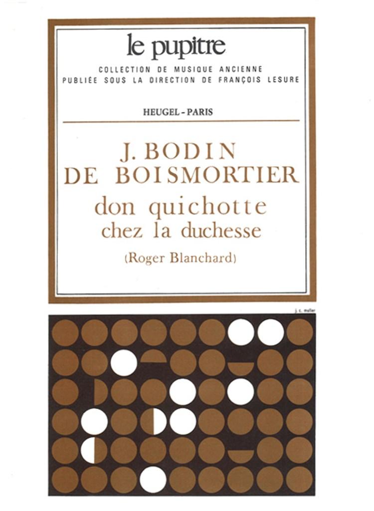 Don Quichotte Chez La Duchesse.Boismortier