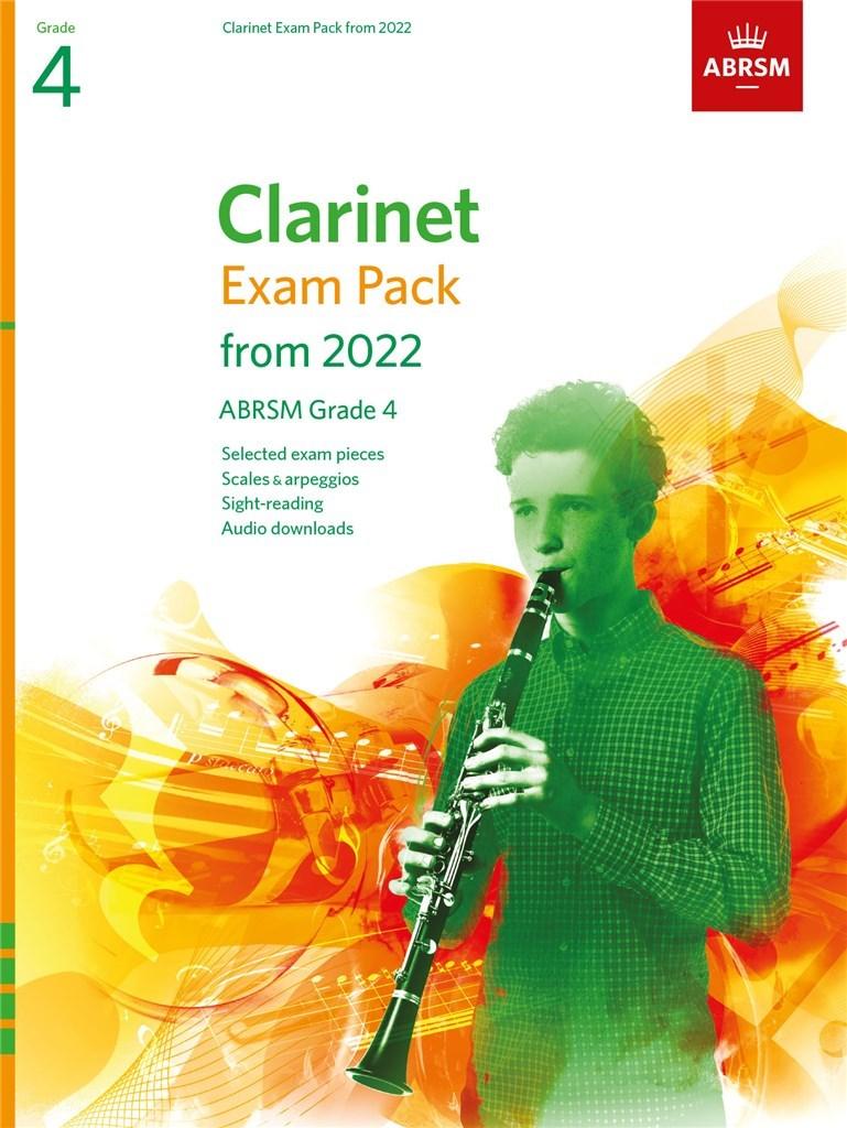Clarinet Exam Pack 2022-2025, ABRSM Grade 4
