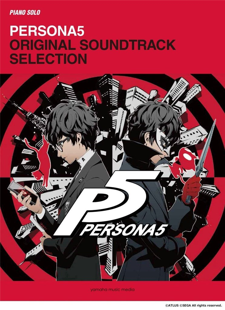 Persona5 original soundtrack selection Piano or Keyboard