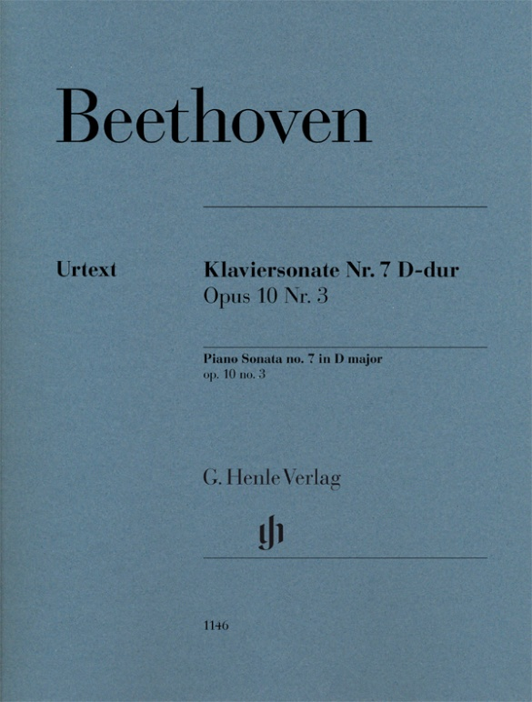 Piano Sonata No. 7 in D Mayor Op.10 nº 3 Piano .Beethoven